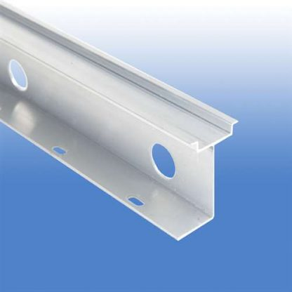 A 6 Piece Box of One Meter High Rise Aluminum Rail #111.044.
